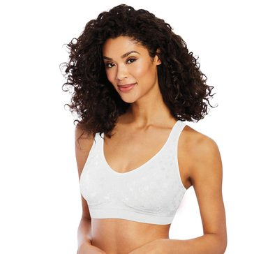 Bali Women's Comfort Revolution Smart Sizes Wire-Free Bra