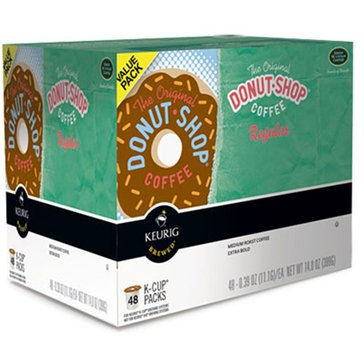 Donut Shop Coffee Regular K-Cup Pods, 48-Count