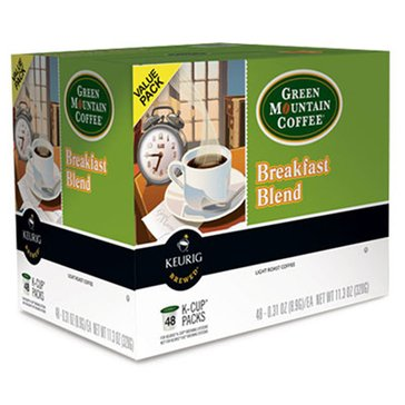 Green Mountain Coffee Breakfast Blend K-Cup Pods, 48-Count