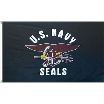 Eder 3'x5' Flag USN SEALs Endura-Poly Outdoor Flag