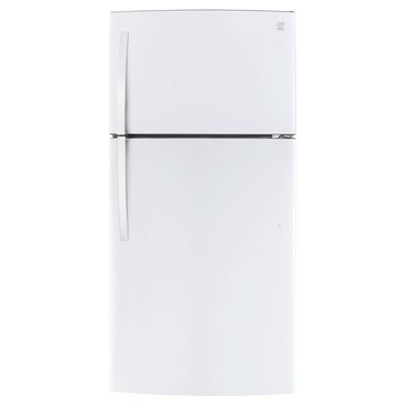 Kenmore 23.8-Cu.Ft. Top-Freezer Refrigerator w/ Icemaker, White (46-78032)