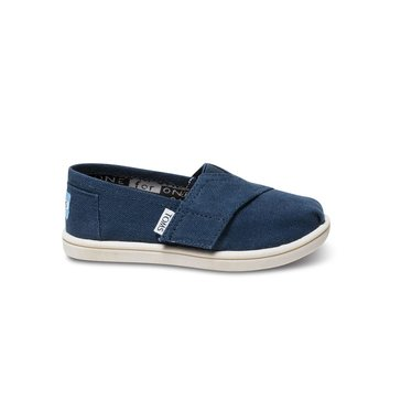 Toms Classic Girls' Canvas Slip On