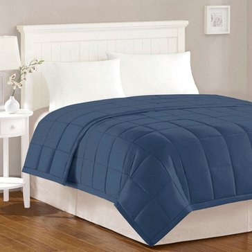 Harbor Home Down Alternative Blanket, Navy - King