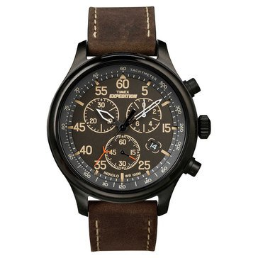 Timex Men's Expedition Brown Watch, 43mm