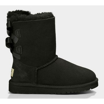 UGG Bailey Bow- Girl's Casual Boot-Black
