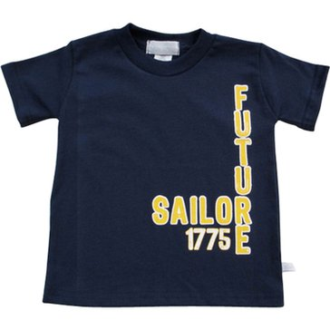Third Street Toddler Boys' USN Future Sailor Tee