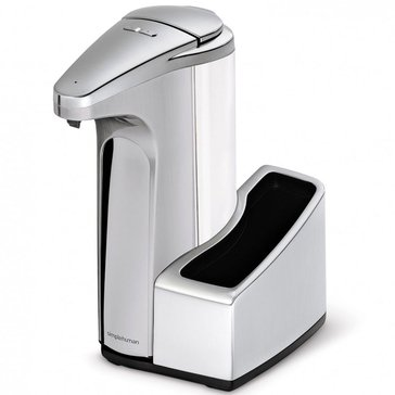 simplehuman 13 oz Brushed NickelSensor Pump With Caddy