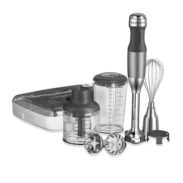 KitchenAid 5-Speed Hand Blender - Contour Silver (KHB2561CU)
