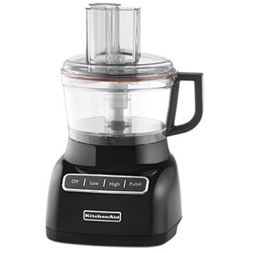 KitchenAid 7-Cup Food Processor - Onyx Black (KFP0711OB)