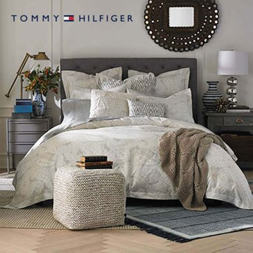 Tommy Hilfiger Mission Paisley Comforter - Full/Queen
