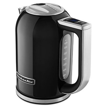 KitchenAid 1.7-Liter Electric Kettle - Onyx Black (KEK1722OB)