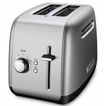 KitchenAid 2-Slice Wide Slot Toaster - Contour Silver (KMT2115CU)