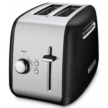 KitchenAid 2-Slice Wide Slot Toaster - Onyx Black (KMT2115OB)