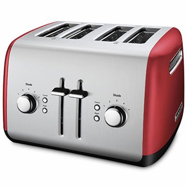 KitchenAid 4-Slice Wide Slot Toaster - Empire Red (KMT4115ER)