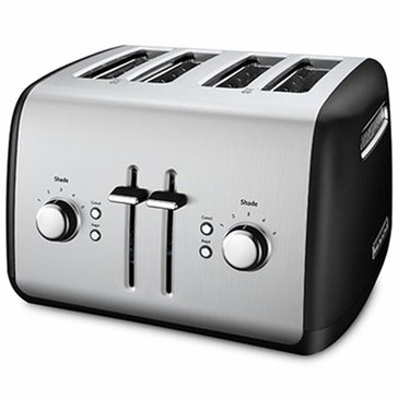 KitchenAid 4-Slice Wide Slot Toaster - Onyx Black (KMT4115OB)