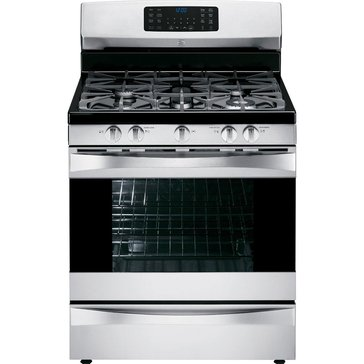 Kenmore Elite 5.6-Cu.Ft. Gas Range w/ True Convection Oven, Stainless Steel (22-75233)