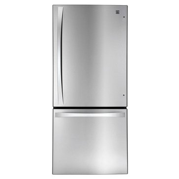 Kenmore Elite 22-Cu.Ft. Bottom-Freezer Refrigerator, Stainless Steel (46-79023)