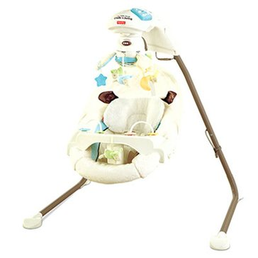 Fisher-Price My Little Lamb Cradle 'n Swing with Plug