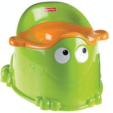 Fisher-Price Green Froggy Potty