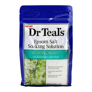Dr. Teal's Wellness Therapy Epsom Salt Soak with Rosemary & Mint, 3lbs