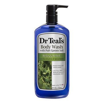 Dr. Teal's Relax & Relief Body Wash Eucalyptus & Spearmint 24oz