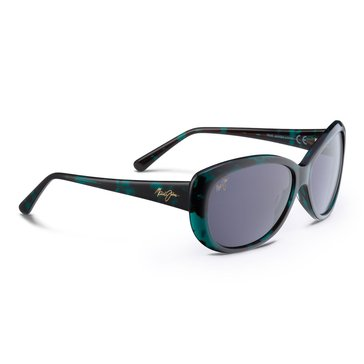 Maui Jim Women's Pikake Emerald with Neutral Grey Polarized Lens Sunglasses 61mm