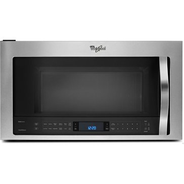 Whirlpool 2.1-Cu.Ft. Microwave Hood Combination, Stainless Steel (WMH73521CS