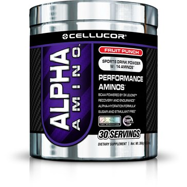 Cellucor Alpha Amino, 30 Servings, Fruit Punch