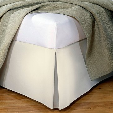 Tailored Bedskirt, Ivory - Twin