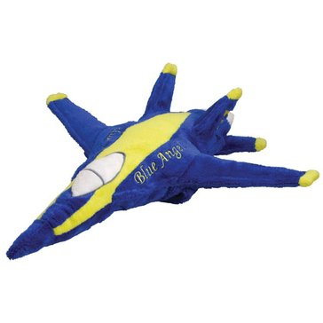 Wow Toyz Cuddle Zoo F-18 Blue Angels Plush Plane