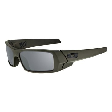 Oakley Standard Issue Men's Gascan Sunglasses, Cerakote Mil-Spec Green/Black Iridium