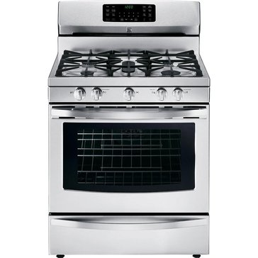 Kenmore 5.6-Cu.Ft. Gas Range w/ True Convection Oven, Stainless Steel (22-74343)