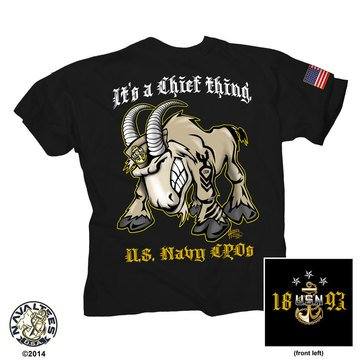 NavalTees Men's USN Chief Thing Tee