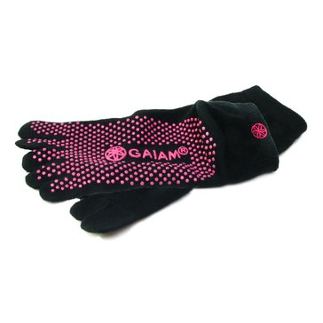 Gaiam Yoga Socks - Pink - Small/Medium