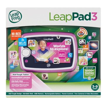 LeapFrog LeapPad3 Kids' Learning Tablet - Pink