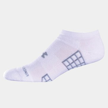 Under Armour No Show Blend 3PK Socks - White