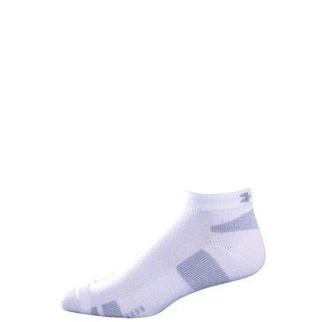 Under Armour Low Cut Blend 3PK Socks - White