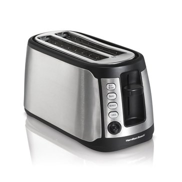 Hamilton Beach Keep Warm 4-Slice Long Slot Toaster (24810)