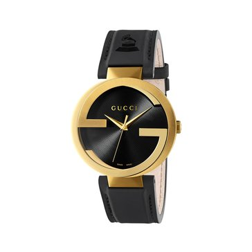 Gucci Men's Interlocking XL Gold Tone Watch 42mm