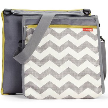 Skip Hop Central Park Outdoor Blanket & Cooler Bag, Chevron
