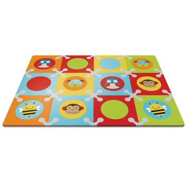 Skip Hop Playspot Foam Floor Tiles, Zoo Multi