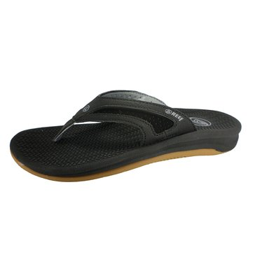 Reef Flex Men's Thong Sandal Black/Silver