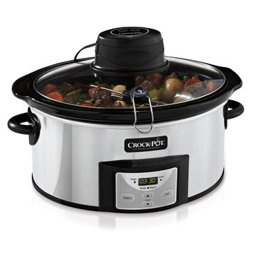 Crock-Pot 6-Quart Digital Slow Cooker with iStir Stirring System (SCCPVC650AS-P)