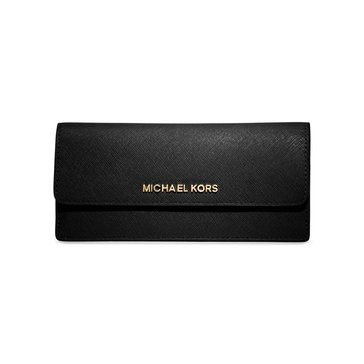 MICHAEL Michael Kors Jet Set Travel Flat Wallet Saffiano