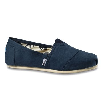 Toms Classic Men's Casual Slip On Navy