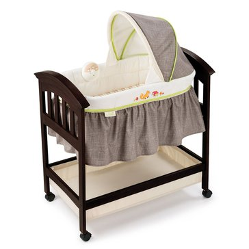 Summer Infant Classic Comfort Wood Bassinet, Fox & Friends