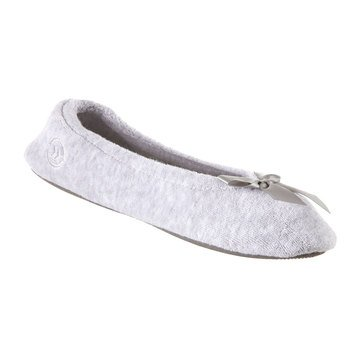 Totes Isotoner Women's Terry Ballerina Slippers