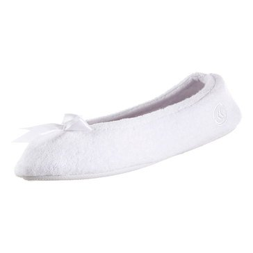 Totes Isotoner Women's Isotoner Women's Terry Ballerina Slippers