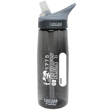 Camelbak eddy .75L USN Charcoal Go Navy 1775 with Eagle Head