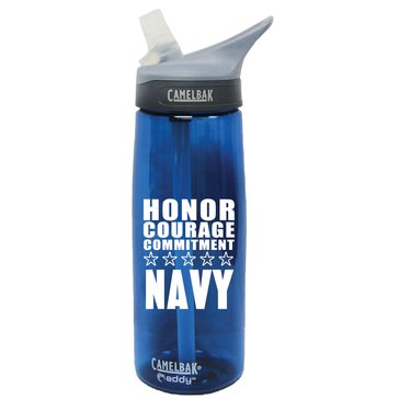 Camelbak eddy .75L USN Honor Courage Commitment Blue
